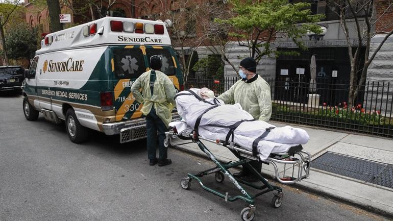 ΗΠΑ-Covid-19: 795 νέοι θάνατοι και 67.600 νέα κρούσματα