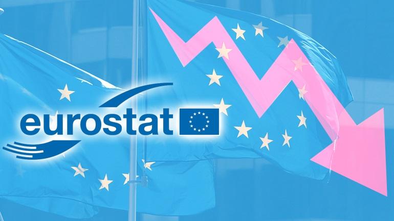 Συρρίκνωση-ρεκόρ της οικονομίας στην Ευρωζώνη
