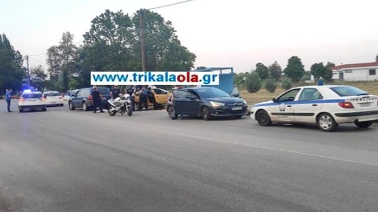 Τρίκαλα: Επεισοδιακή καταδίωξη αυτοκινήτου - Τραυματίστηκε αστυνομικός