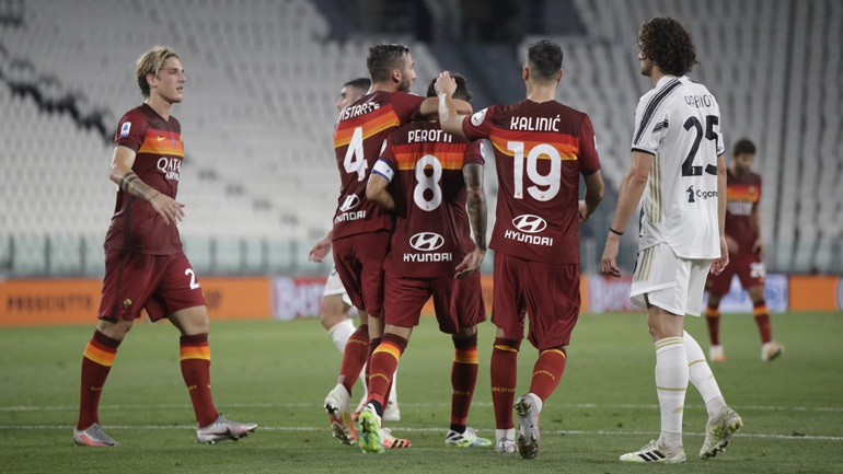 Φινάλε με ήττα για την Γιουβέντους, 3-1 η Ρόμα