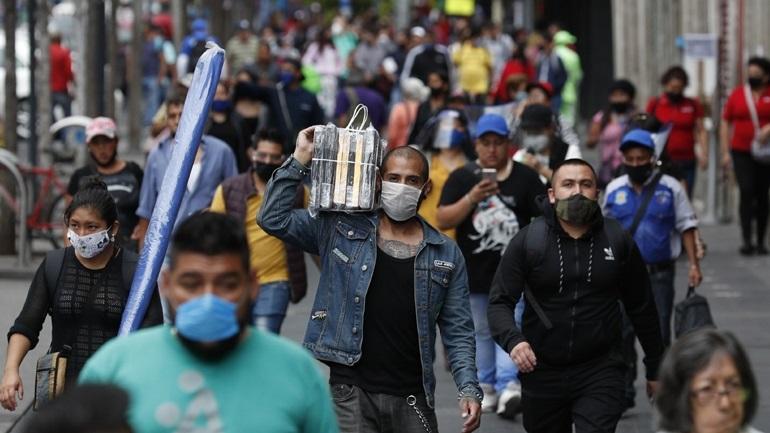 Covid-19: 274 νέοι θάνατοι και 4.853 νέα κρούσματα στο Μεξικό