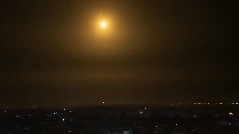 Ισραήλ: Ο στρατός έπληξε θέσεις της Χαμάς σε αντίποινα για την εκτόξευση ρουκέτας