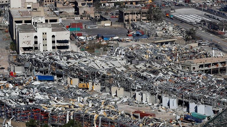 Στους 154 ανήλθε ο αριθμός των νεκρών από την έκρηξη στη Βηρυτό