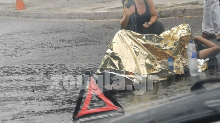 Τροχαίο ατύχημα με τραυματισμό μοτοσικλετιστή στην Κηφισιά