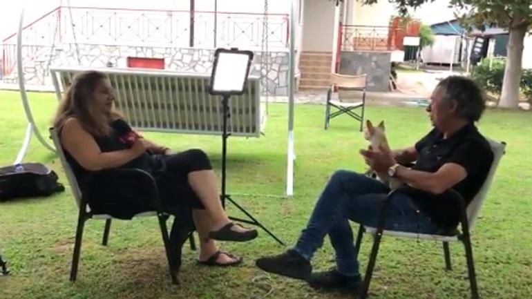 Συνέντευξη του Μάκη Τριανταφυλλόπουλου στην ιταλική RAI