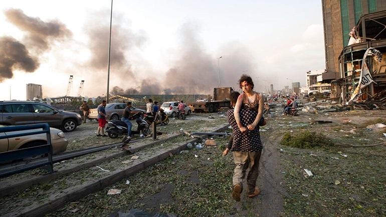Βηρυτός: Δακρυγόνα κατά διαδηλωτών που προσπάθησαν να μπουν στο κοινοβούλιο