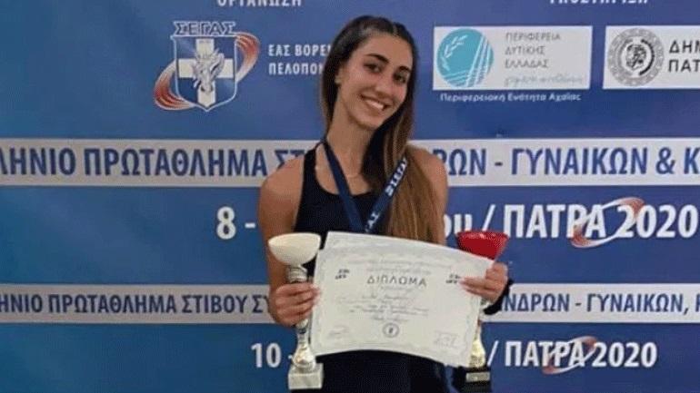 Στίβος: Πρωταθλήτρια στα 100 μ. με εμπόδια η Αναΐς Καραγιάννη!