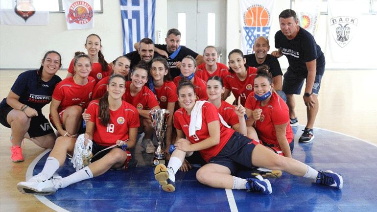 Μπάσκετ: Πρωταθλήτρια η Ηλιούπολη στο Πανελλήνιο Νεανίδων