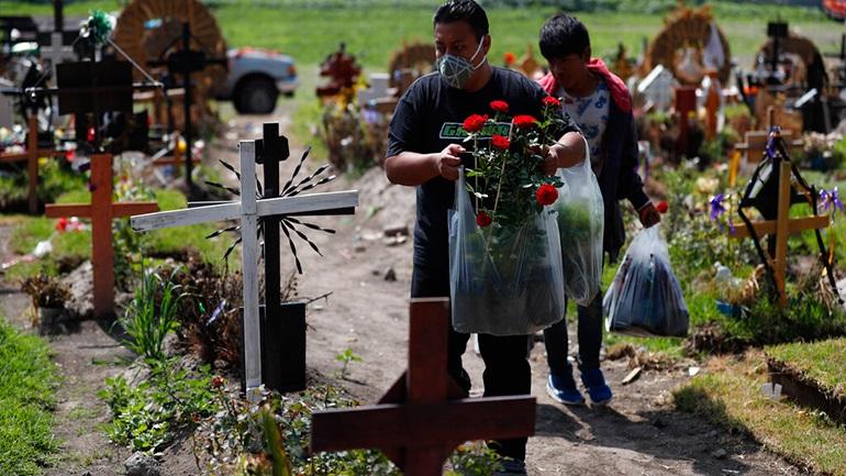 Μεξικό: 705 θάνατοι και 5.558 κρούσματα σε 24 ώρες
