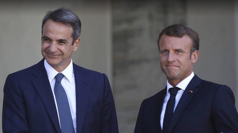 Το ευχαριστώ Μητσοτάκη σε Μακρόν για τη στήριξη της Γαλλίας: «Είναι αληθινός φίλος της Ελλάδας»