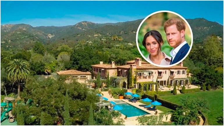 H Meghan Markle και o πρίγκιπας Harry μετακόμισαν στη νέα υπερπολυτελή κατοικία τους στην Καλιφόρνια