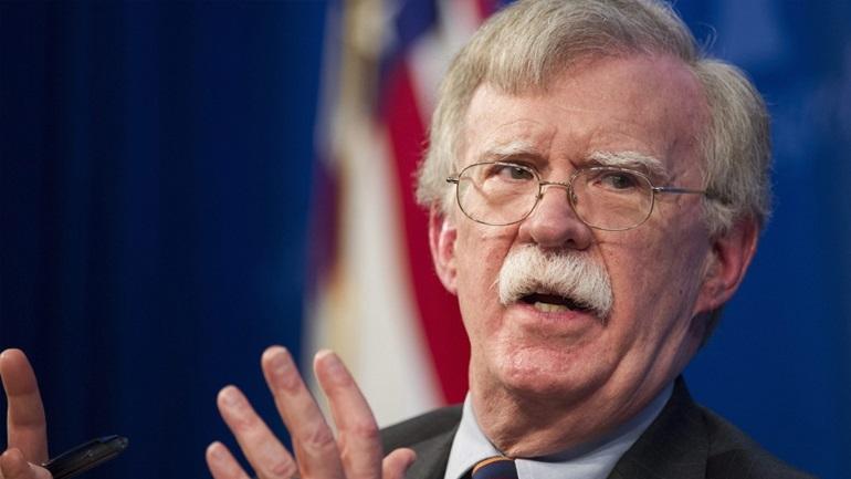 Τζον Μπόλτον: Η ηγεσία των ΗΠΑ να διαφυλάξει την ελληνική κυριαρχία στη Μεσόγειο