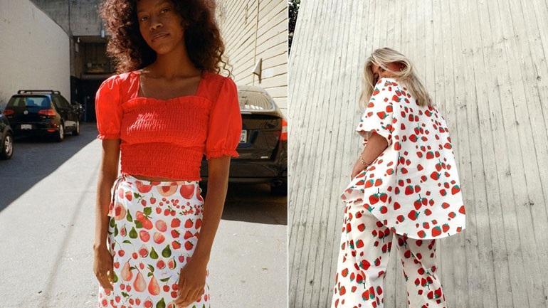 To fruit print θα κάνει το καλοκαίρι σας ακόμα πιο φωτεινό!