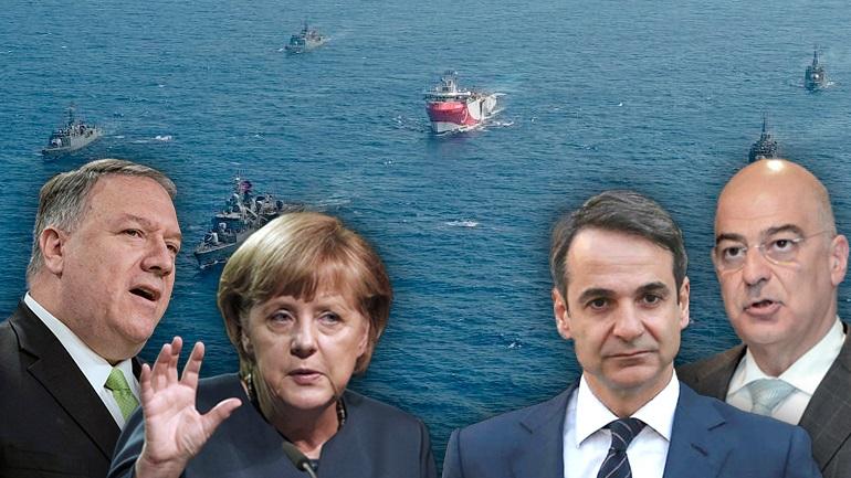 Υπό πίεση η Αθήνα για έναρξη διαλόγου με την Τουρκία