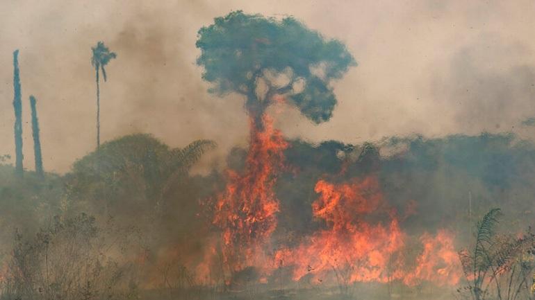 Βραζιλία: Πυρκαγιές στον Αμαζόνιο κατακαίνε χωράφια και απειλούν κατοικίες
