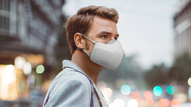 Η μάσκα της LG καθαρίζει τον αέρα που εισπνέετε