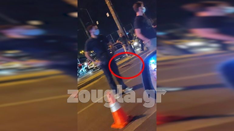 Τροχαίο ατύχημα στην Πέτρου Ράλλη - Αυτοκίνητο παρέσυρε και τραυμάτισε σοβαρά πεζό