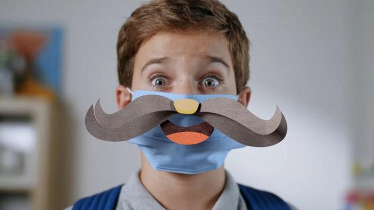 Νέα ενημερωτική καμπάνια της Γ.Γ. Πολιτικής Προστασίας: «Οι μάσκες που χαμογελούν όπως αυτοί που αγαπάς»