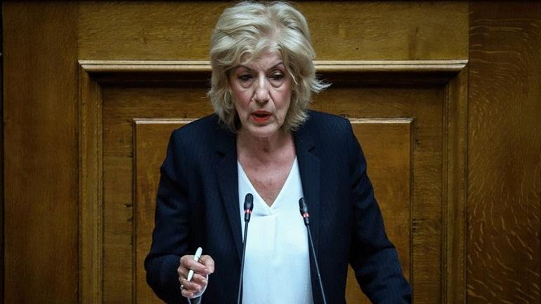 Σία Αναγνωστοπούλου: «Τρίτο κρούσμα στο Υπουργείο Πολιτισμού και η υπουργός άφαντη»