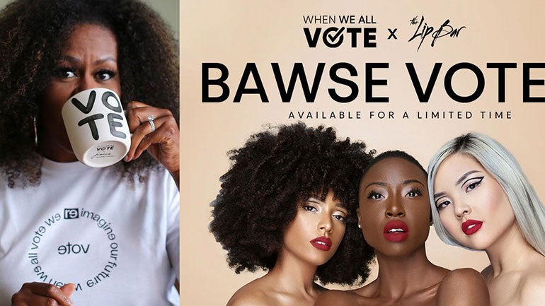 Bawse Voter: Η Michelle Obama λανσάρει το δικό της κραγιόν για καλό σκοπό