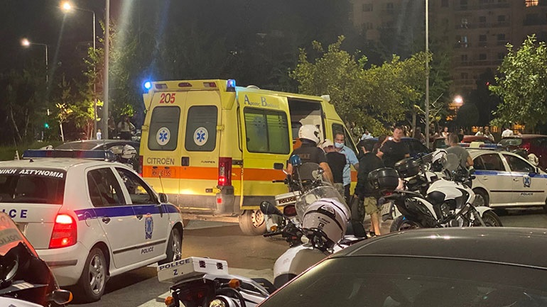 Ένταση σε πορεία στη Νέα Παραλία Θεσσαλονίκης με 51 συλλήψεις