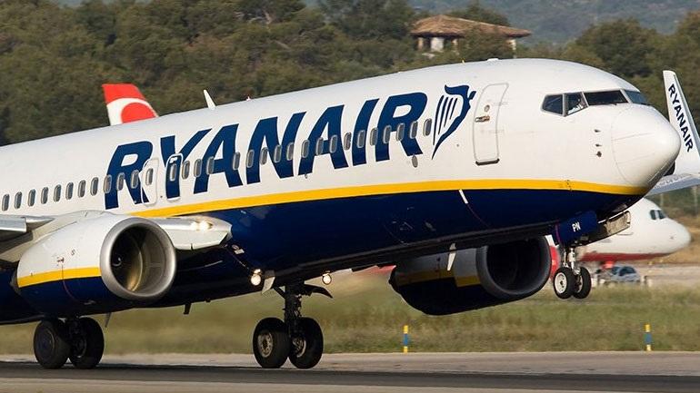 Ryanair: Μειώνει τη χωρητικότητά της τον Οκτώβριο στο 40% έναντι του 2019