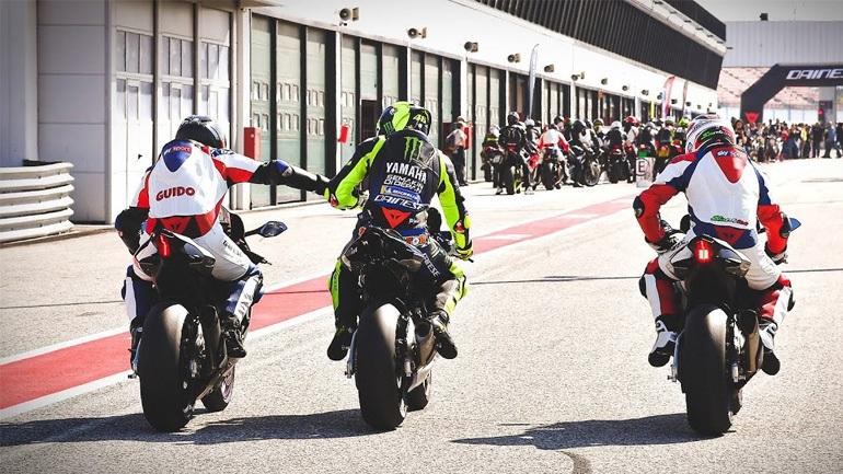 Οδηγώντας στο Misano με δάσκαλο το Valentino Rossi!