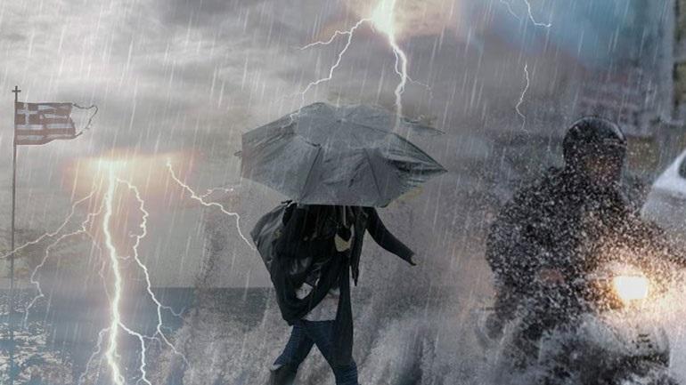 Σε κατάσταση έκτακτης ανάγκης Κεφαλονιά, Ιθάκη και Ζάκυνθος λόγω της κακοκαιρίας «Ιανός»