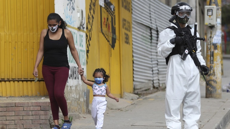 Covid-19: 188 νέοι θάνατοι και 6.526 νέα κρούσματα στην Κολομβία