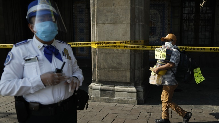 Covid-19: 624 νέοι θάνατοι το τελευταίο 24ωρο στο Μεξικό