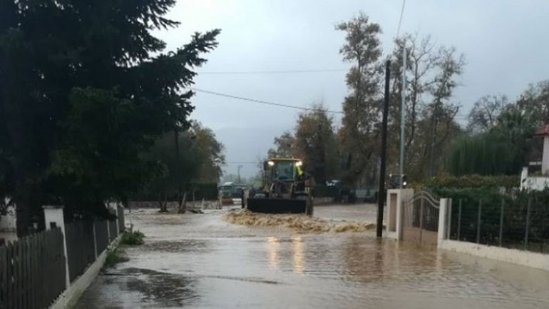 Σε κατάσταση έκταση έκτακτης ανάγκης ο δήμος Μακρακώμης Φθιώτιδας