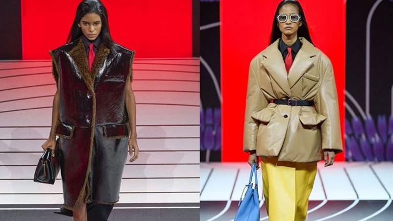 Τα πιο stylish πανωφόρια της σεζόν έρχονται από τον οίκο Prada