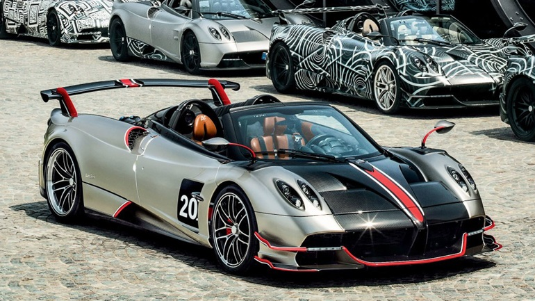 Δείτε την Pagani Huayra Roadster BC να σπάει το ρεκόρ στην πίστα του Spa