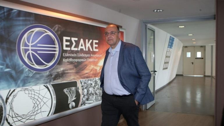 Μπάσκετ: Συνάντηση Λιόλιου-Βασιλακόπουλου στα γραφεία της ΕΟΚ