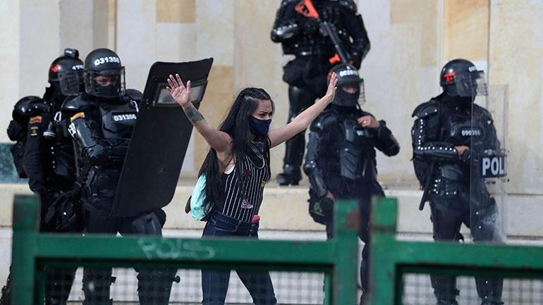 Κολομβία: Νέες διαδηλώσεις κατά της αστυνομικής βίας