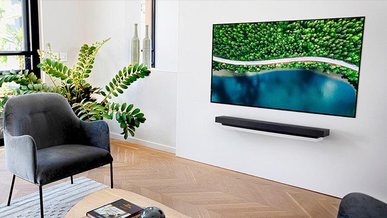 Αποκτήστε ένα έργο τέχνης στο σπίτι σας με τη νέα LG OLEDWX TV