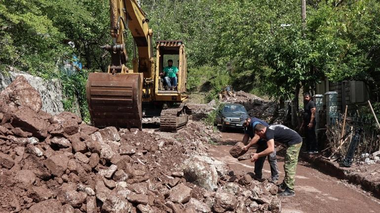 Ο στρατός θα μοιράζει φαγητό στους πληγέντες από τον Ιανό στην Καρδίτσα
