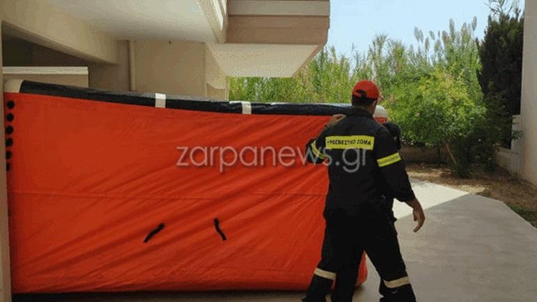Γυναίκα στα Χανιά απειλεί να πέσει από το μπαλκόνι στον 3o όροφο πολυκατοικίας