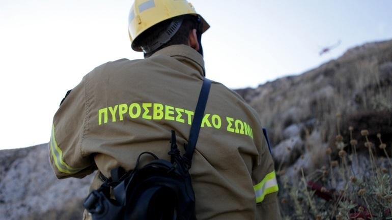 Φωτιά σε χωματερή στον δήμο Φυλής