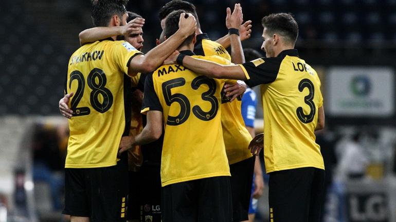 Άνετη νίκη για την ΑΕΚ, 3-0 τη Λαμία
