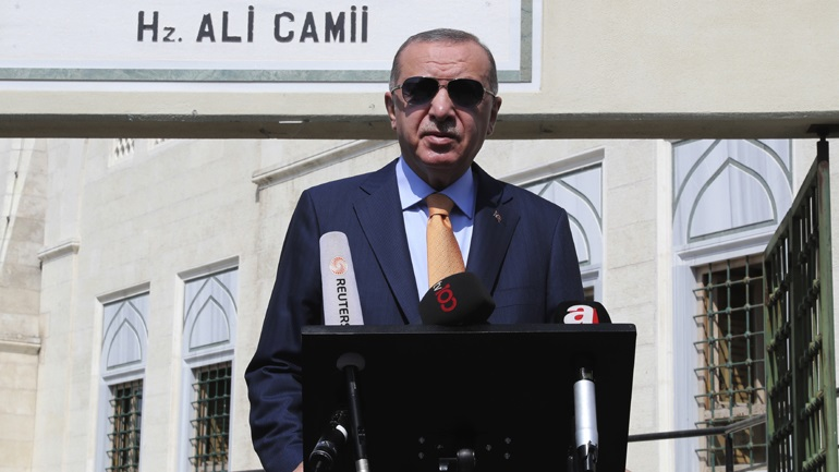 Ερντογάν: Να τερματιστεί η «κατοχή» από την Αρμενία του Ναγκόρνο Καραμπάχ