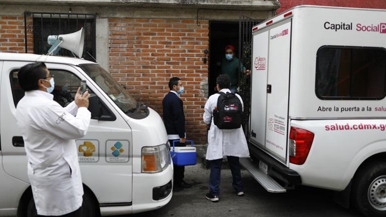Covid-19: Ξεπέρασαν τους 77.000 οι θάνατοι στο Μεξικό
