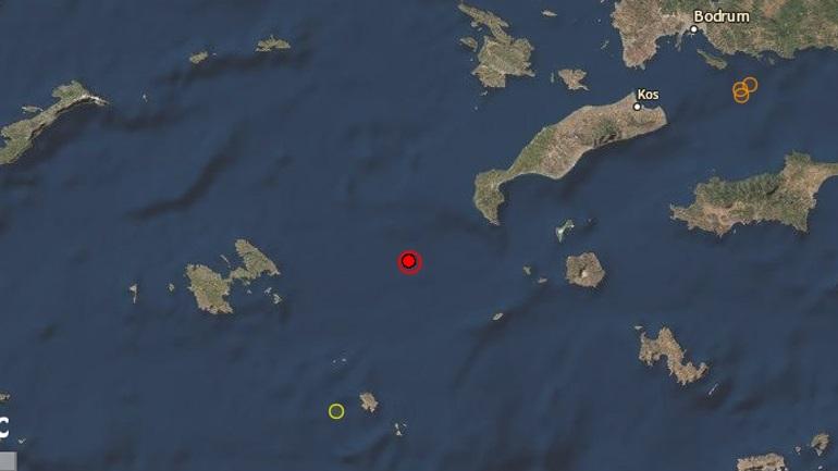 Σεισμός 4,8 Ρίχτερ μεταξύ της Κω και της Αστυπάλαιας