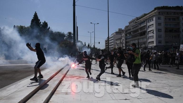 Δύο συλλήψεις για τα επεισόδια στο πανεκπαιδευτικό συλλαλητήριο