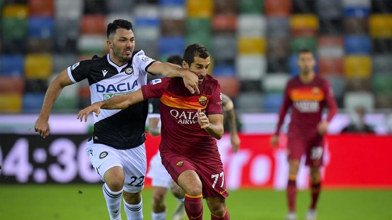 Ιταλία: Έκανε... σεφτέ στις νίκες η Ρόμα, 1-0 την Ουντινέζε