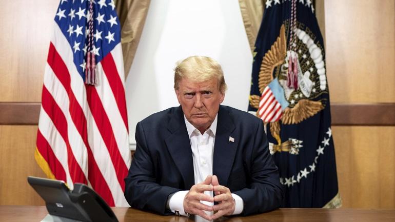 Εξιτήριο για Τραμπ ακόμα και εντός της ημέρας λέει ο προσωπάρχης του Λευκού Οίκου