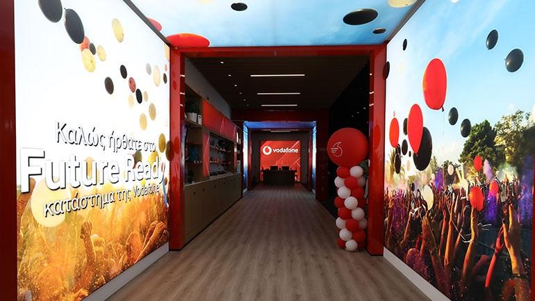 Vodafone Future Ready κατάστημα -  Εδώ που η τεχνολογία γίνεται εμπειρία για όλους