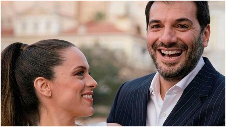 Παναγιώτης Χατζηδάκης: Η φωτογραφία από τον γάμο του με την καλή του λίγο πριν τον ερχομό του μωρού τους