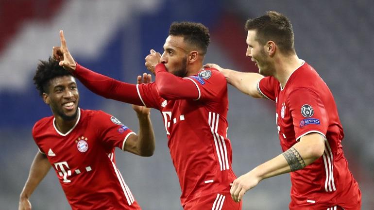 Champions League: Έκανε πάρτι η Μπάγερν, 4-0 την Ατλέτικο – Όλα τα αποτέλεσματα