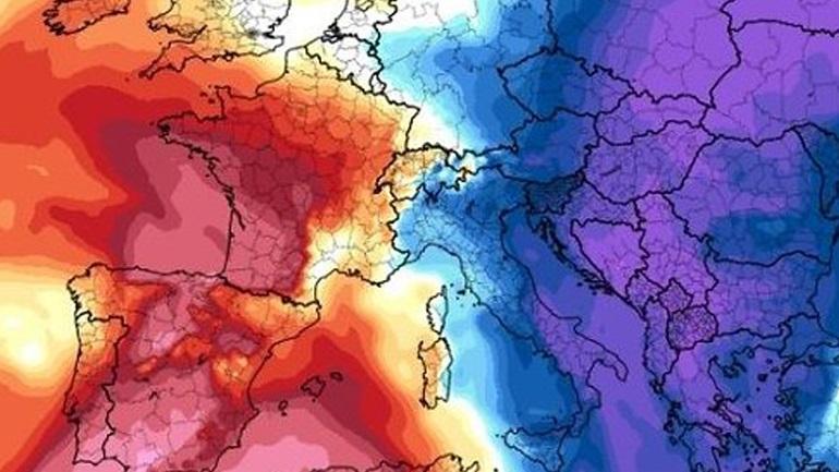 Ήπιος χειμώνας προβλέπεται για την Ευρώπη από την Weather Company